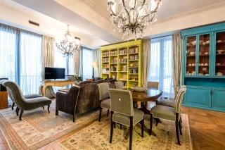 аренда дизайнерской 3-комнатной квартиры на Крестовском острове СПБ