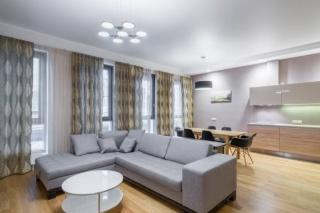 аренда 3-комнатной квартиры с авторским дизайном в Петроградском районе С-Петербург